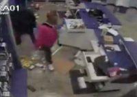 Looting in Houston Sec Camera