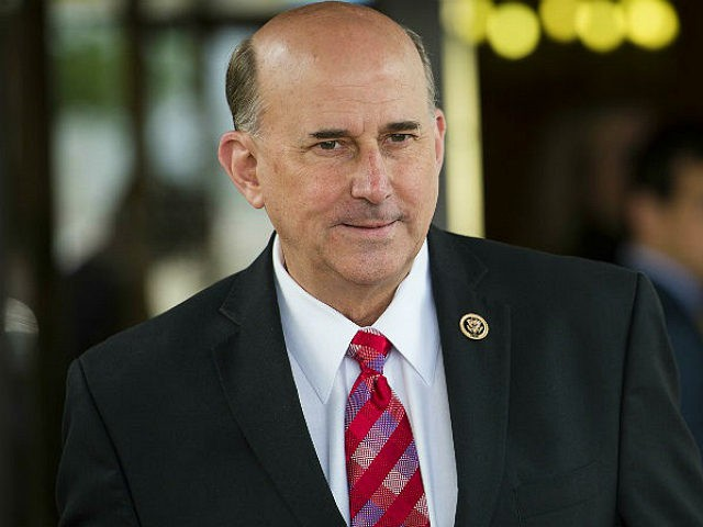 UNITED STATES - MAY 19: Rep. Louie Gohmert, R-Texas, leaves the House Republican Conference meeting at the Capitol Hill Club in Washington on Tuesday, May 19, 2015. (Photo By Bill Clark/CQ Roll Call)