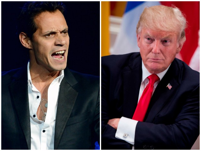 Singer Marc Anthony to Trump: 'Shut the F**k Up About NFL'