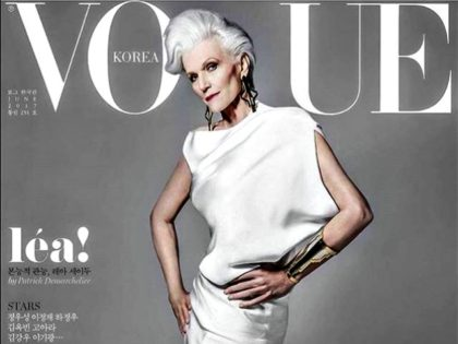 Maye Musk Korean Vogue