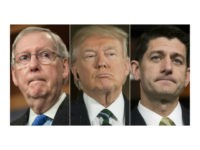 McConnell, Trump, Ryan collage