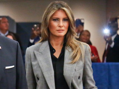 Fashion Notes: Melania Trump Stuns at U.N. In Off-The-Runway Calvin Klein Suit