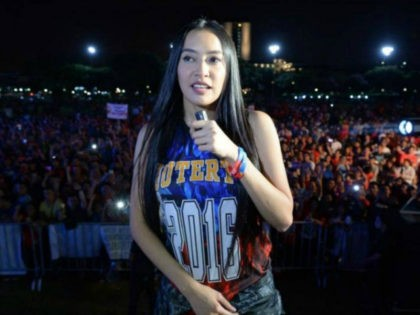 """Mocha Uson, a blogger and supporter of Philippine President Rodrigo Duterte who rose to fame as a scantily dressed singer and model, is to oversee press accreditation for bloggers and social media """"influencers"""" in the country, in line with new rules"""