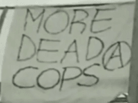 More Dead Cops Banner