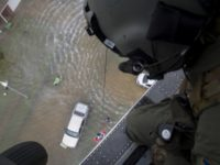 PJ Airlift Rescue of Houston Flood Victims - U.S. Air Force Photo - TSgt. Zachary Wolf