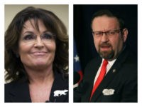 Palin and Gorka support Roy Moore over Luther Strange.