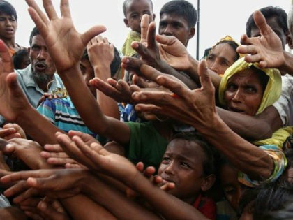Tens of thousands of mostly Rohingya refugees have arrived in Bangladesh since violence erupted in neighbouring Myanmar on August 25, with some alleging massacres by security forces and Buddhist mobs