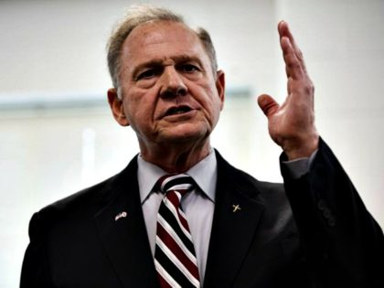 Roy Moore Hand - Bill Clark/CQ Roll/CallGetty Images
