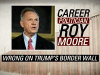 PolitiFact: Senate Leadership Fund Attack Ad Claiming Roy Moore Doesn't Support Border Wall 'Mostly False'