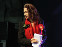 Labour's newly elected Member of Parliament Sarah Champion walks on to the stage to be declared the winner of the Rotherham by-election on November 30, 2012 in Rotherham, England. UKIP candidate Jane Collins finished second. The by-election was called after former MP Denis McShane wrongly claimed expenses and stepped down …