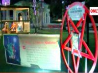 Satanic Christmas Display Screen Shot 2017-09-29