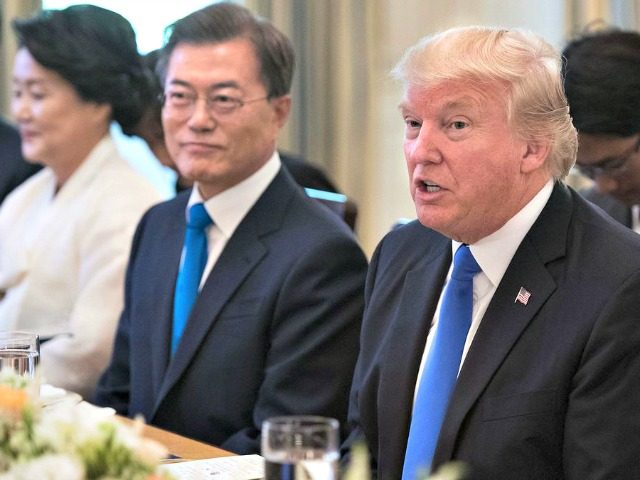 Trump plans to withdraw from Korea free trade deal