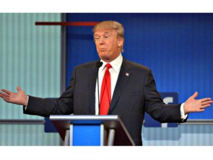 Trump Shrug AFPGetty