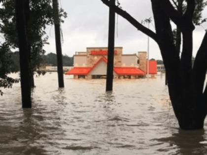 Whataburger flooded