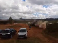 Russian War Games: Helicopter Accidentally Fires 'Missiles' on Bystanders, Injuring Two