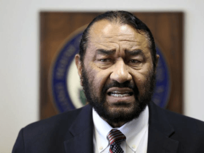 It is unclear how far Rep. Al Green is on the articles and whether he plans to file a privileged resolution for impeachment. (Godofredo A. Vasquez/AP)
