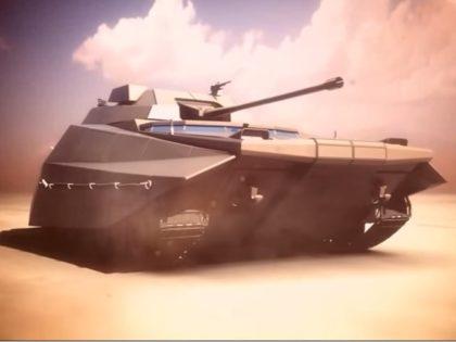 The IDF's future Carmel armored vehicle. Photo: YouTube screenshot.