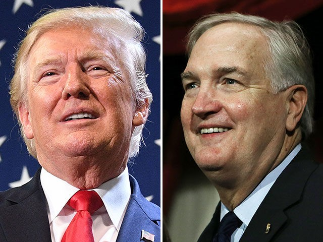 President Donald Trump and appointed U.S. Senator Luther Strange.