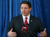 Florida U.S. congressman RonDeSantis speaks during a pre-legislative news conference, Wednesday, Oct. 14, 2015, in Tallahassee, Fla. (AP Photo/Steve Cannon)