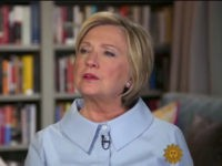 "Former Democratic presidential candidate Hillary Clinton sits down with ""CBS Sunday Morning"" anchor Jane Pauley for her first TV interview about her new book, a memoir entitled ""What Happened."""