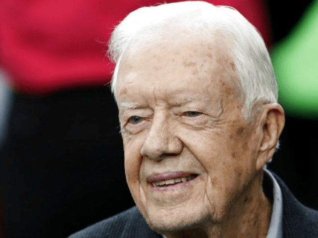 Former President Jimmy Carter recovering from broken hip after fall
