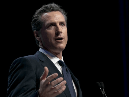 Gubernatorial candidate Gavin Newsom called on the National Rifle Assn. to take down a controversial new video that he argued villanizes political rivals and could lead to violence.