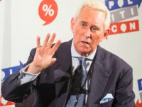Roger Stone attends Politicon at The Pasadena Convention Center on Sunday, Aug. 30, 2017, in Pasadena, Calif. (Photo by Colin Young-Wolff/Invision/AP)