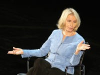 Writer Sally Quinn speaks onstage at The Lasting Impact of Anita Hill during Tina Brown's 7th Annual Women in the World Summit at David H. Koch Theater at Lincoln Center on April 8, 2016 in New York City. (Photo by Jemal Countess/Getty Images)