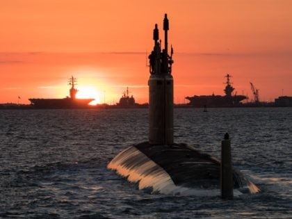 An undated photo of the future USS Washington (SSN 787). The Navy accepted delivery of the 14th submarine of the Virginia-class May 26. (U.S. Navy photo courtesy of Huntington Ingalls Industries by Matt Hildreth/Released)