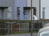 "Police forensic officers nter a property in Sunbury-on-Thames, southwest London, as part of the investigation into Friday's Parsons Green bombing, Saturday Sept, 16, 2017. British police made what they called a ""significant"" arrest Saturday in southern England, and searched a property in Sunbury-on-Thames as the manhunt for suspects continues following …"