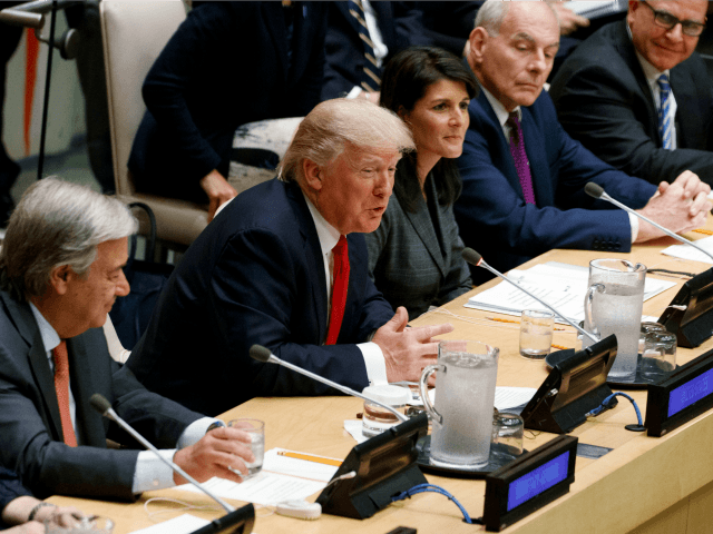Trump Offers Support for UN Reform