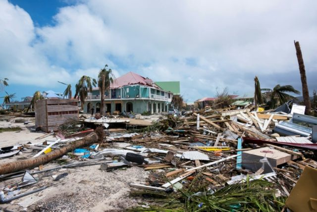 Hurricane Irma has laid waste to a string of islands in the Caribbean and is now heading northwest towards Florida