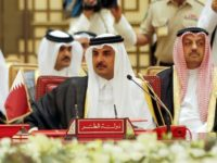 Qatar's Emir Sheikh Tamim bin Hamad al-Thani attends a Gulf Cooperation Council (GCC) summit in the Bahraini capital Manama on December 6, 2016