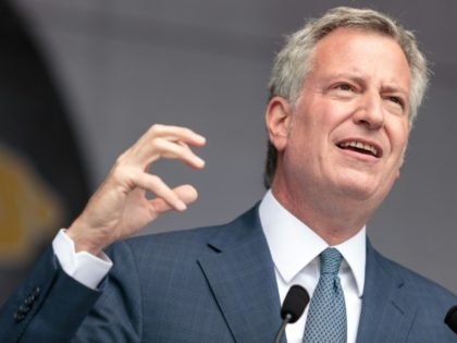 New York Mayor Bill de Blasio will face off for re-election on November 7 against ex-policeman Bo Dietl and 36-year-old Republican Nicole Malliotakis of Staten Island