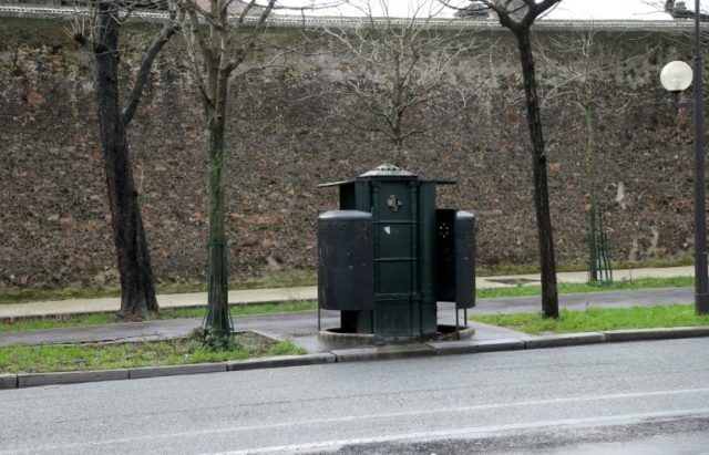 A Vespasienne or pissoir is a public street urinal invented in France that is common across Europe -- but is it suitable for women?
