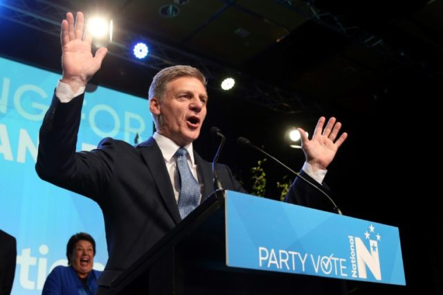 "Leader of the National Party Bill English, who rated his chances of striking a deal with populist 72-year-old Winston Peters as ""pretty good"""