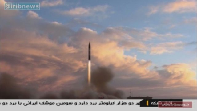 Iran says it successfully launched a medium-range missile September 23, in defiance of warnings from Washington that such activities were grounds for abandoning their nuclear deal