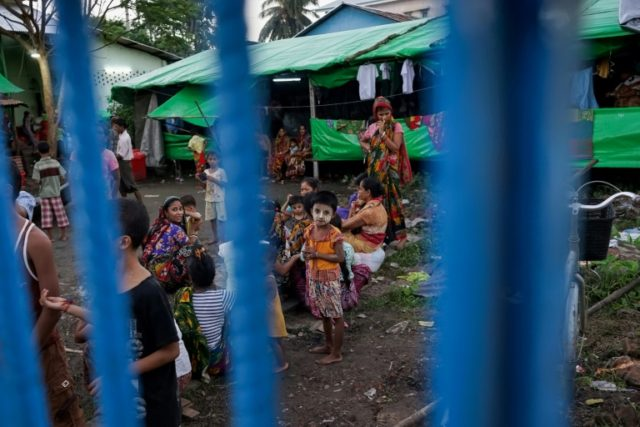 Thousands of Hindus have been displaced by ethnic and religious violence that has torn through Myanmar's Rakhine state since August 25, with many blaming Rohingya Muslims for forcing them to flee
