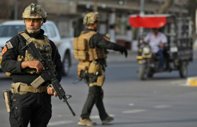 Security force members affiliated to Iraq's interior ministry have deployed on the streets of Kirkuk after a curfew was imposed on the disputed northern city during the vote on the Kurdish independence on September 25, 2017 The non-binding vote, initiated by veteran Kurdish leader Massud Barzani, has angered not only …