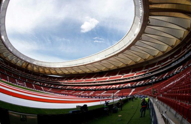 View of Atletico Madrid's new home, Wanda Metropolitano stadium