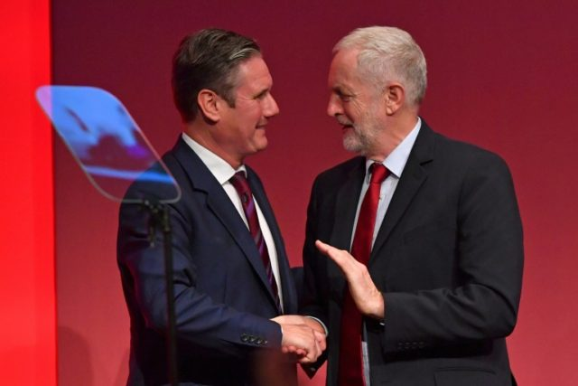 Britain's Labour party is locked in an open battle over the country's future outside the European Union
