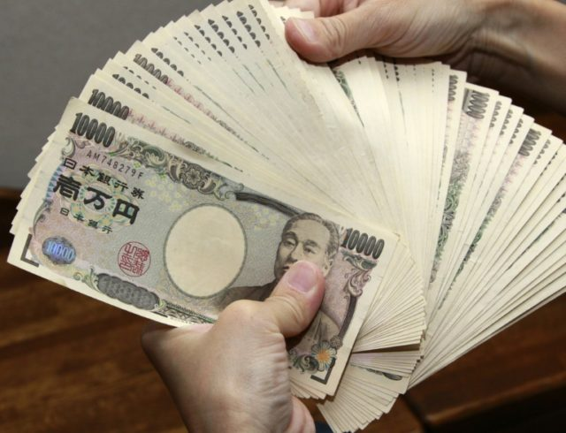 The yen retreated on the prospect of fresh cash being pumped into financial markets following a report saying Prime Minister Shinzo Abe is considering a multi-billion-dollar stimulus