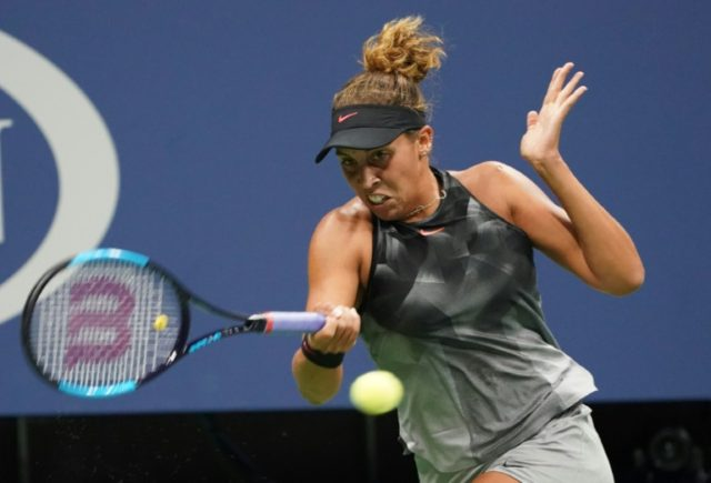 Madison Keys, seen in action during the 2017 US Open tournament, in New York, on September 2