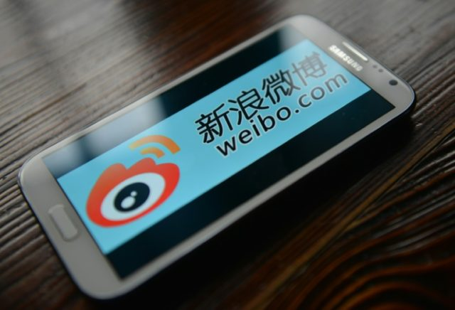 Microblogging site Weibo was among tech firms fined by China for failing to remove illegal online content