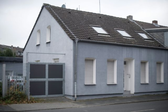 The house in Toenisvorst, western Germany, where hate preacher Abou Walaa used to live