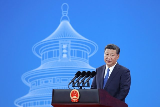 Chinese President Xi Jinping called for 'global security governance' as he addressed Interpol's general assembly in Beijing