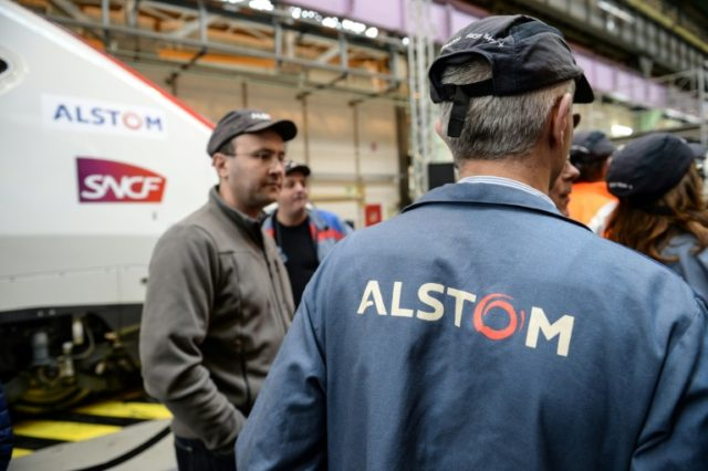 Alstom workers assembling TGV high-speed trains may get new overalls soon if a mooted merger with German rival Siemens goes through.