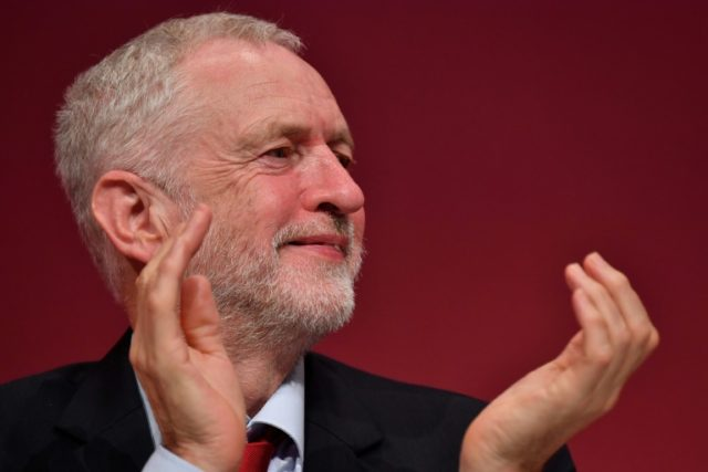 Britain's opposition Labour Party leader Jeremy Corbyn has tripled Labour's membership to 570,000 in two years