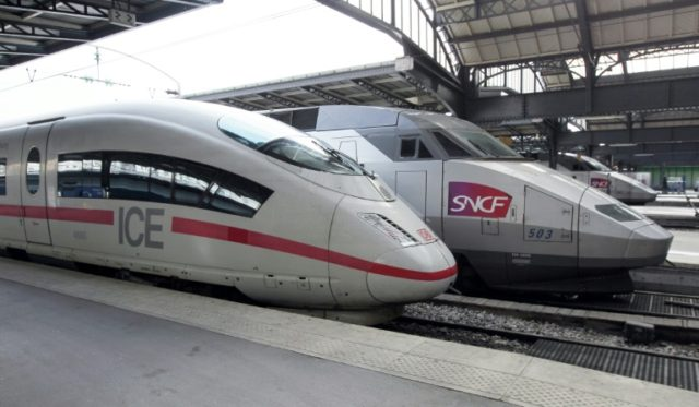 Alstom and Siemens, which make France's high-speed TGV and Germany's ICE trains, announced a tie-up to create a new European rail champion.