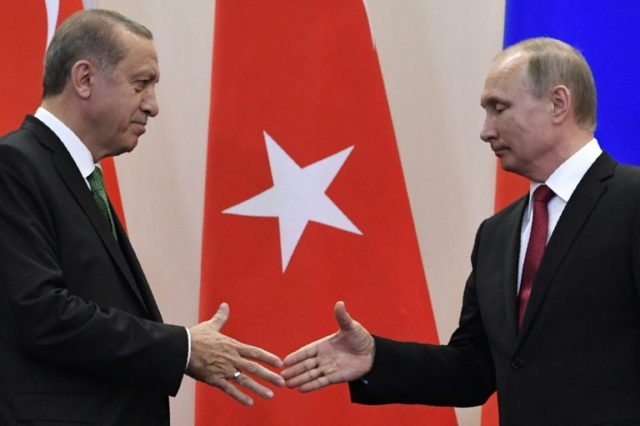 Turkey's NATO allies have grown increasingly alarmed at President Recep Tayyip Erdogan's deepening ties with Russia's Vladimir Putin